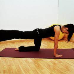 pilates (ilustrace)