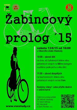 Žabincový prolog 2015 (plakát)